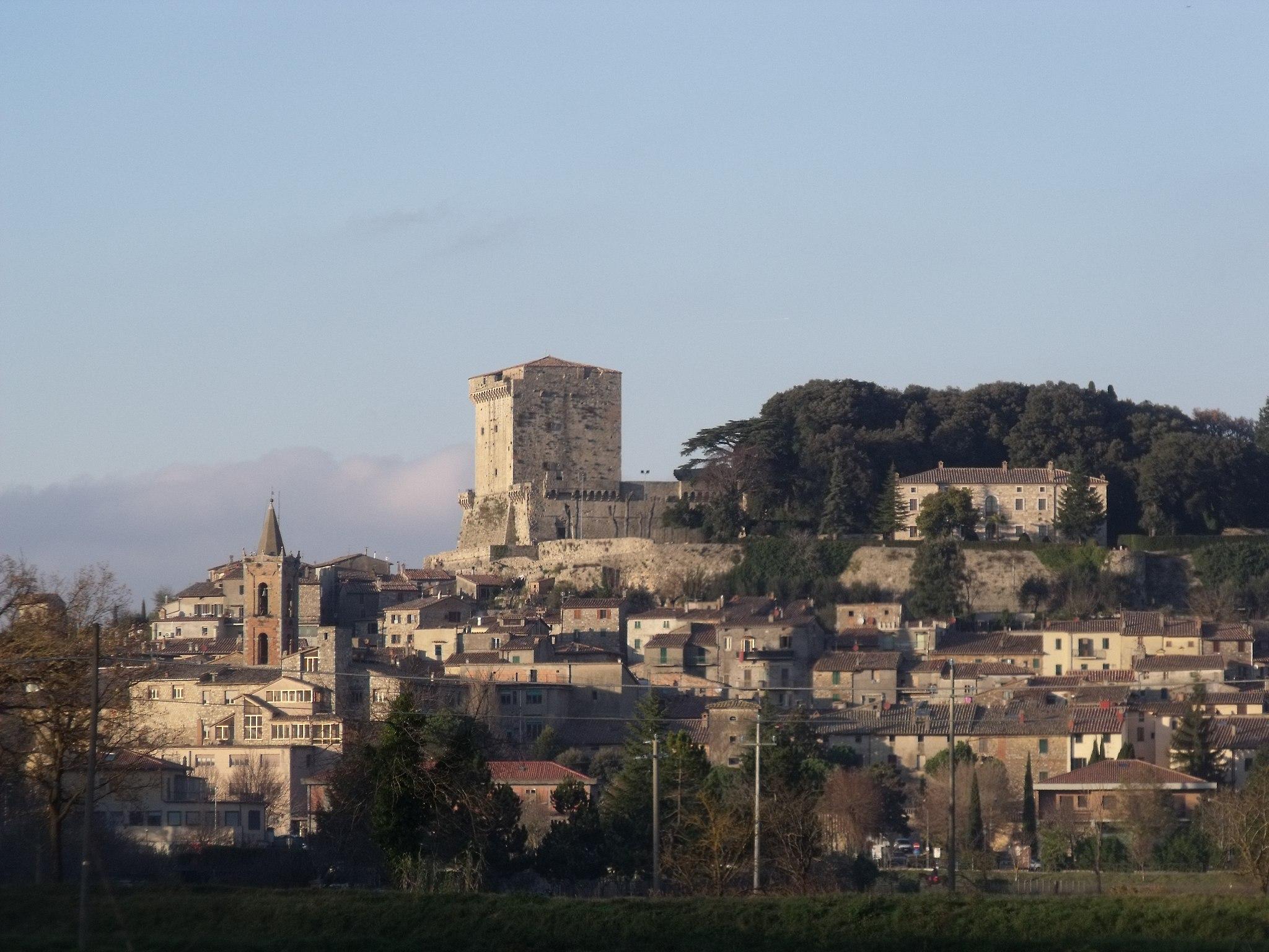 Panorama of Sarteano