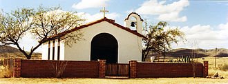 Sasabe, Arizona - Church in Sasabe