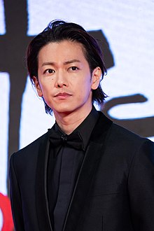 "Sato Takeru from ""One Night"" at Opening Ceremony of the Tokyo International Film Festival 2019 (49013876096).jpg"