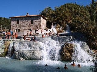 Saturnia Frazione in Tuscany, Italy