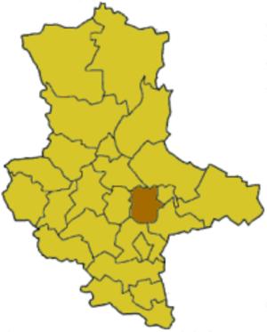 Köthen (district) - Image: Saxony anhalt koet
