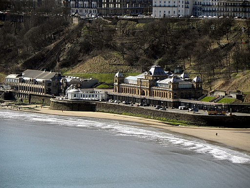 Scarborough Spa Complex from Castle Viewing Platform - geograph.org.uk - 1778540