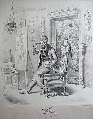 Karl Ferdinand Sohn - Sohn in his studio, 1846