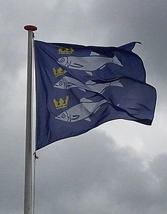 Flag of Scheveningen - Flag of Scheveningen