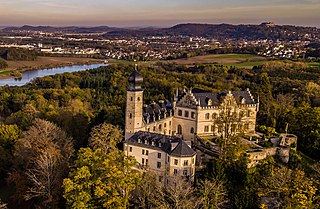 Callenberg Castle building in Coburg, Upper Franconia, Germany