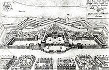 print of Mannheim Palace