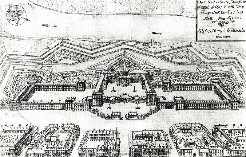File:Schloss Mannheim 1725 v J C Froimon.jpg