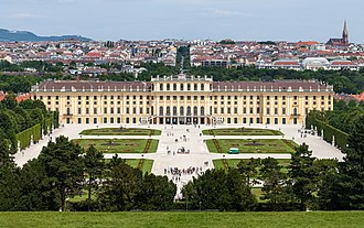 House of Habsburg - Image: Schloss Schönbrunn Wien 2014 (Zuschnitt 2)