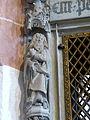 Schwabach Stadtkirche - Sakramentshäuschen 5a Heiliger.jpg