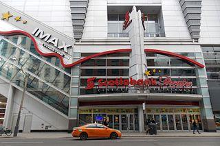 Scotiabank Theatre Toronto Cinema in Toronto, Ontario, Canada