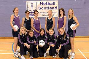 Netball in Scotland - The Scottish national netball team in 2006