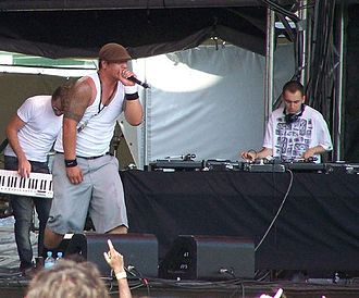 Scribe (rapper) - Scribe at the Big Day Out in 2007.