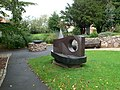 Sculpture in Wynn Gardens, Old Colwyn - geograph.org.uk - 527417.jpg