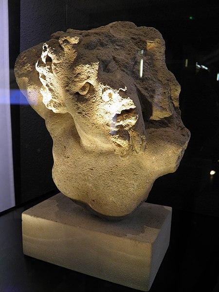 Sculpture of Marsyas or a Faun, Roman Grand (Andesina), France