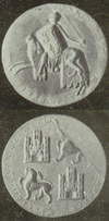 Seal of Fernando III of Castile and León, 1237.png
