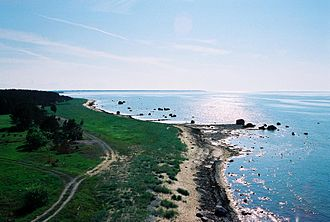 Protected areas of Estonia - North-west coast of Estonia near Nõva, Lääne County.
