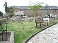 Seat in the churchyard at St Mary's, Alverstoke - geograph.org.uk - 1424974.jpg