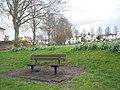 Seat near Oram's Arbour - geograph.org.uk - 760860.jpg
