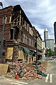 Seattle - Earthquake damage to Cadillac Hotel 2nd Ave S in Pioneer Square, 2001.jpg