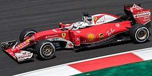 Ferrari SF16-H - Image: Sebastian Vettel 2016 Malaysia FP2 1