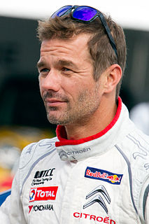 Sébastien Loeb French rallying driver