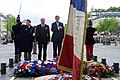 Secretary Kerry, French Foreign Minister Fabius Pause After 70th Anniversary VE Day Wreath-Laying Ceremony in Paris (17235414149).jpg