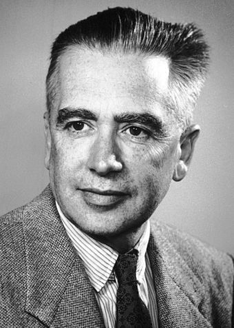 Emilio Segre, one of the discoverers of the main-group element astatine Segre.jpg