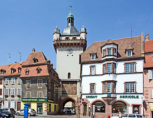 Sélestat - The Clock Tower