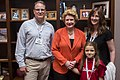 Senator Stabenow meets with a family who is part of the Children's Miracle Network. (27366613583).jpg