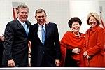 Senator and Mrs. Martinez with Governor Bush and Lt. Governor Jennings.jpg