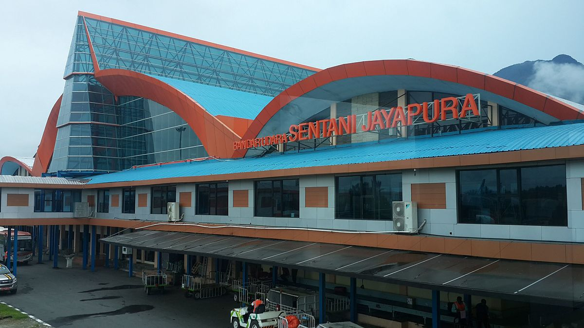 Sentani International Airport - Wikipedia