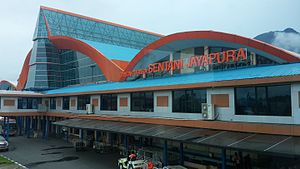 Sentani International Airport - Image: Sentani Airport