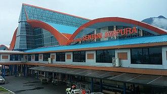 Sentani International Airport - Sentani Airport Terminal Area