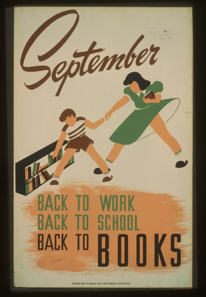 September - back to work - back to school - back to BOOKS LCCN98509757