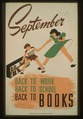 September - back to work - back to school - back to BOOKS LCCN98509757.tif