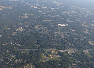 Severn, Maryland - 2014 aerial photo of Severn