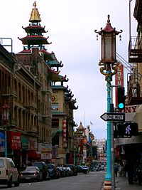 View of Chinatown