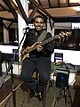 Shan Perera with his Ibanez 6 String bass.jpg