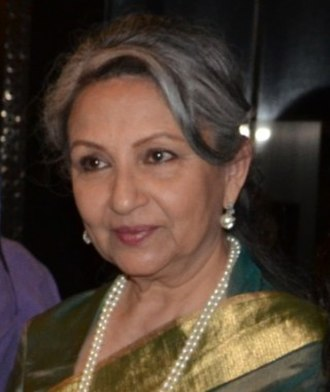 Sharmila Tagore - Tagore at an event in 2014.