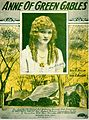 Sheet music cover - ANNE OF GREEN GABLES (1919).jpg
