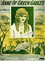 Sheet music cover - ANNE OF GREEN GABLES (1919).jpg