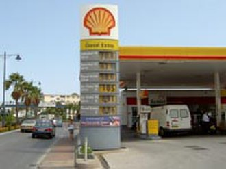 Mairéad Farrell - The Shell garage in Gibraltar