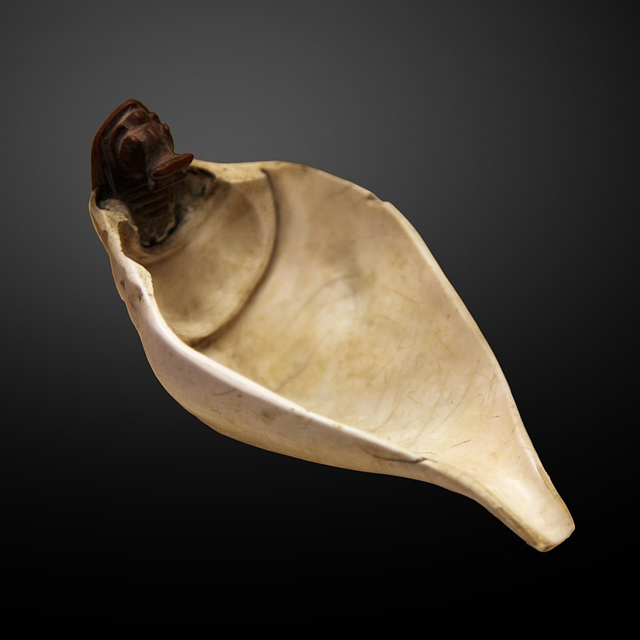 Shell shaped spoon-N 1328