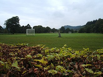 Shinty - Shinty field (Winterton), Inveraray