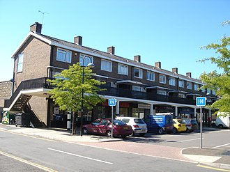 Crawley - The Southgate neighbourhood's parade of shops