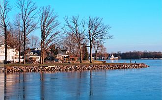 Buckeye Lake (Ohio) - Image: Shoreline of Buckeye Lake (Ohio)