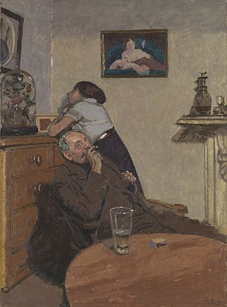 Walter Sickert - Ennui 1914, Tate Britain