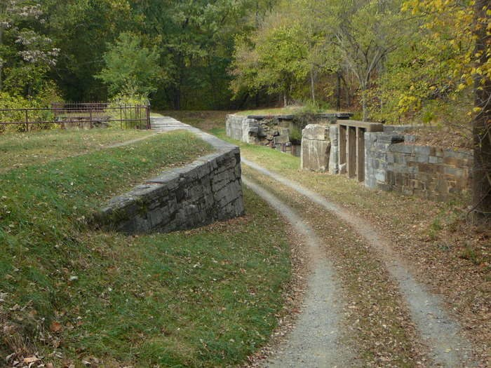 Sidling Creek Aqueduct C and O Canal
