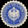 Siegelmarke Feldintendantur der 5. Landwehr-Division W0283715.jpg