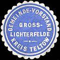 Siegelmarke Gemeinde - Vorstand Gross - Lichterfelde - Kreis Teltow W0224347.jpg